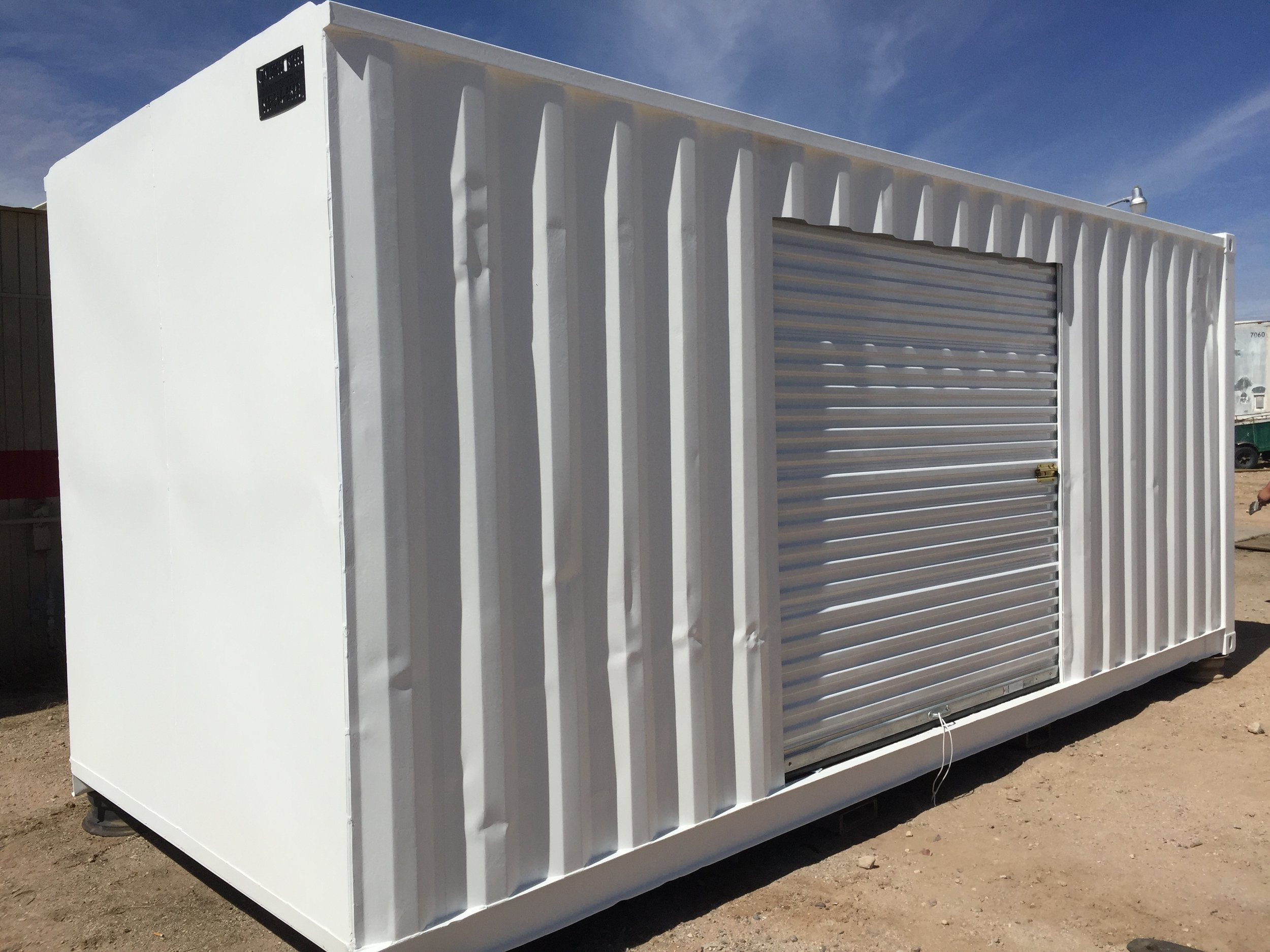 custom shipping container - baseline model B