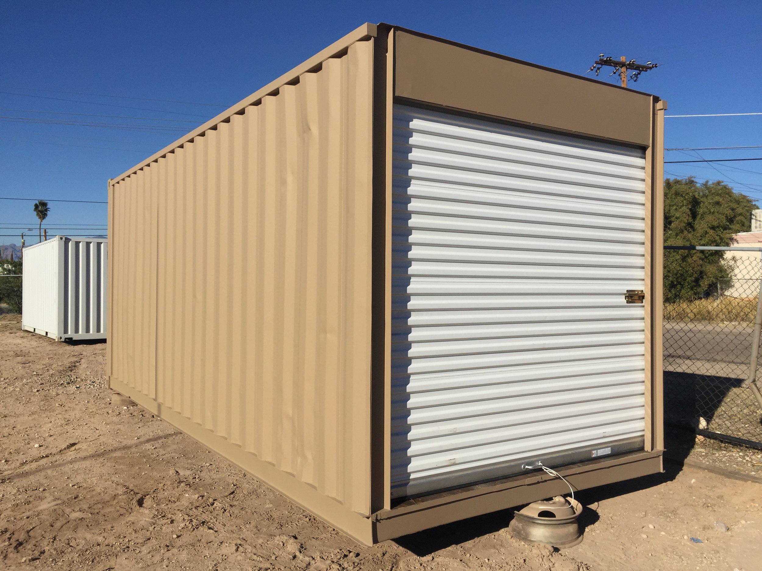 custom shipping container - baseline model