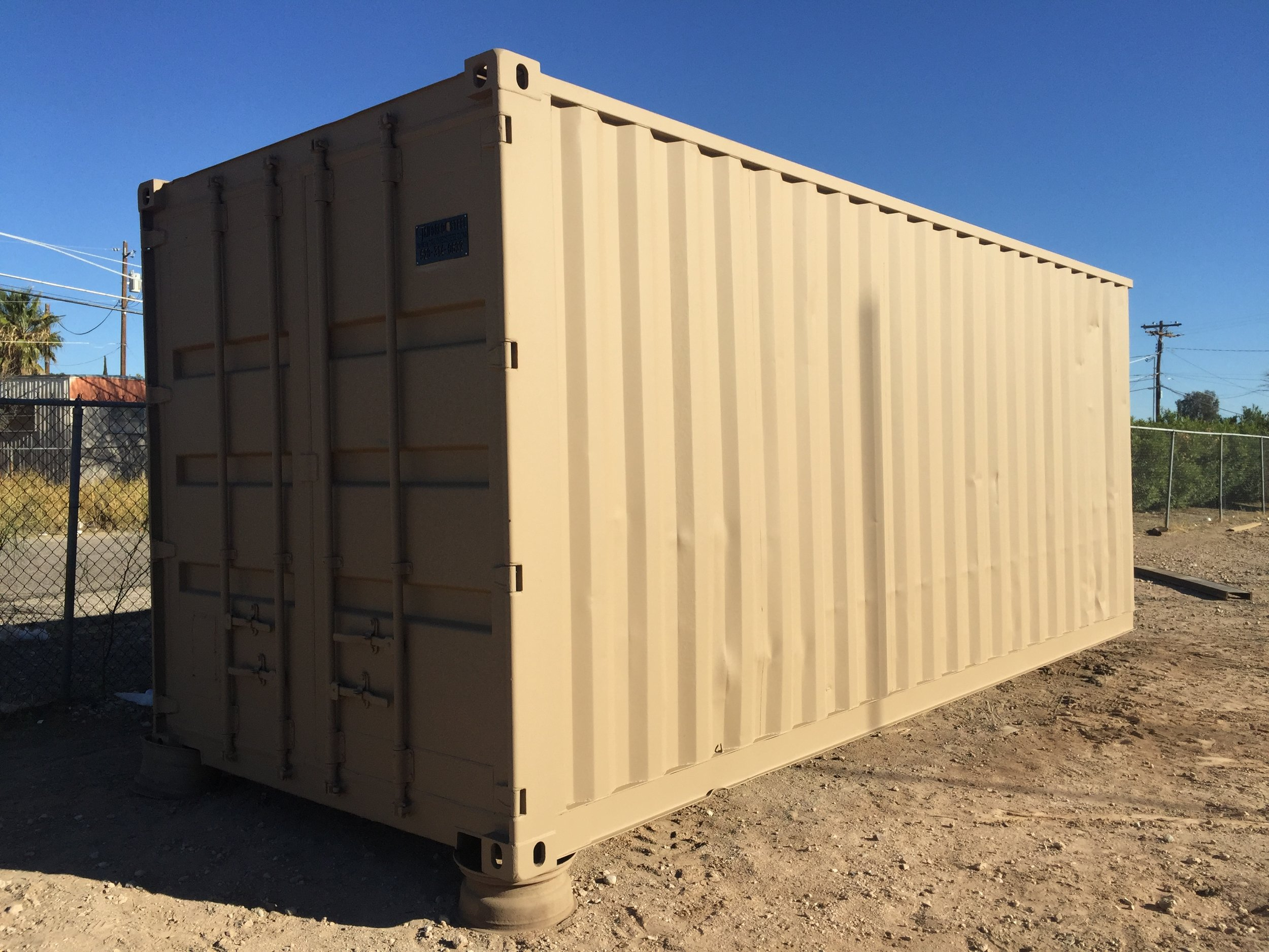 custom shipping container in tucson, az