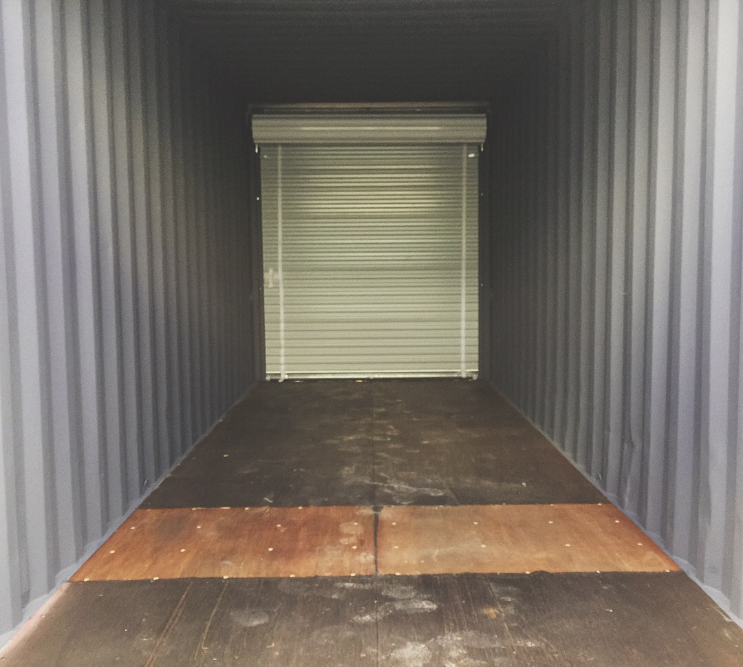 custom shipping container interior - baseline model