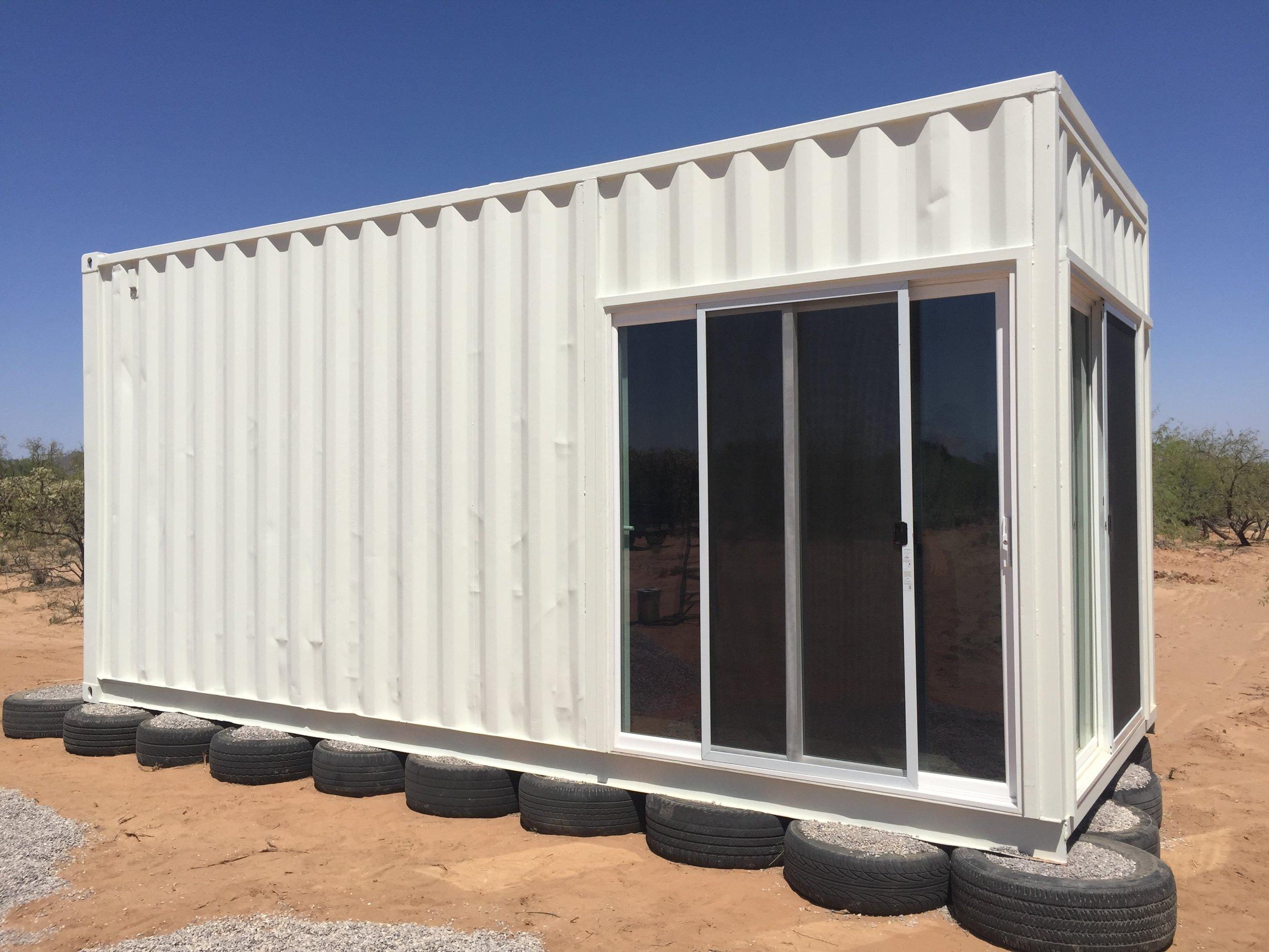 Custom tiny shed
