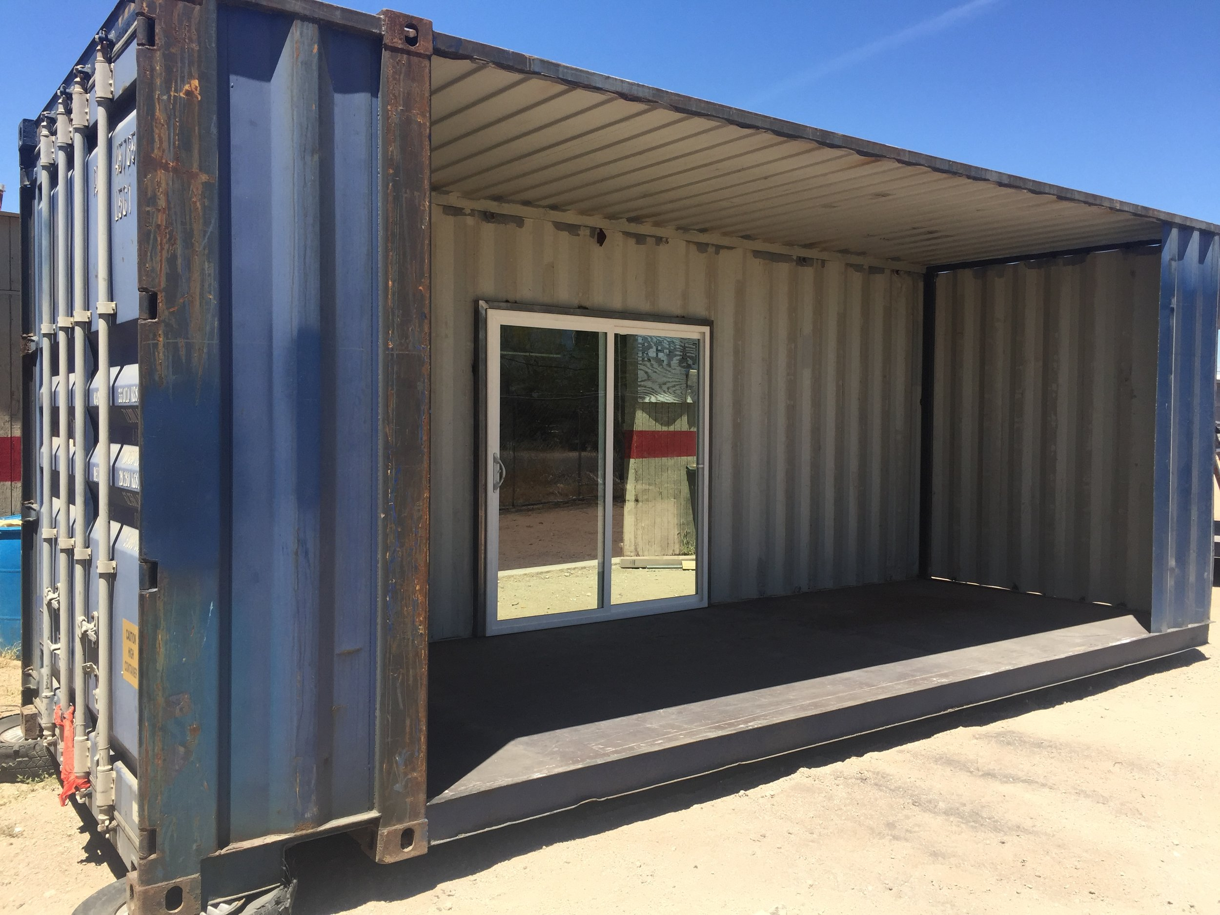 Custom shipping Container shed