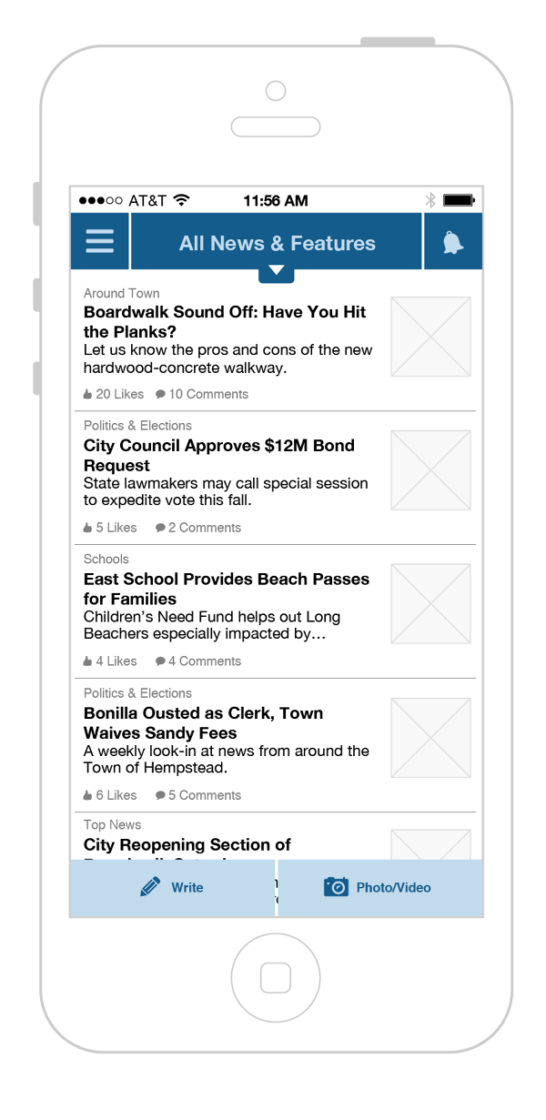 Filtered feed - News & features