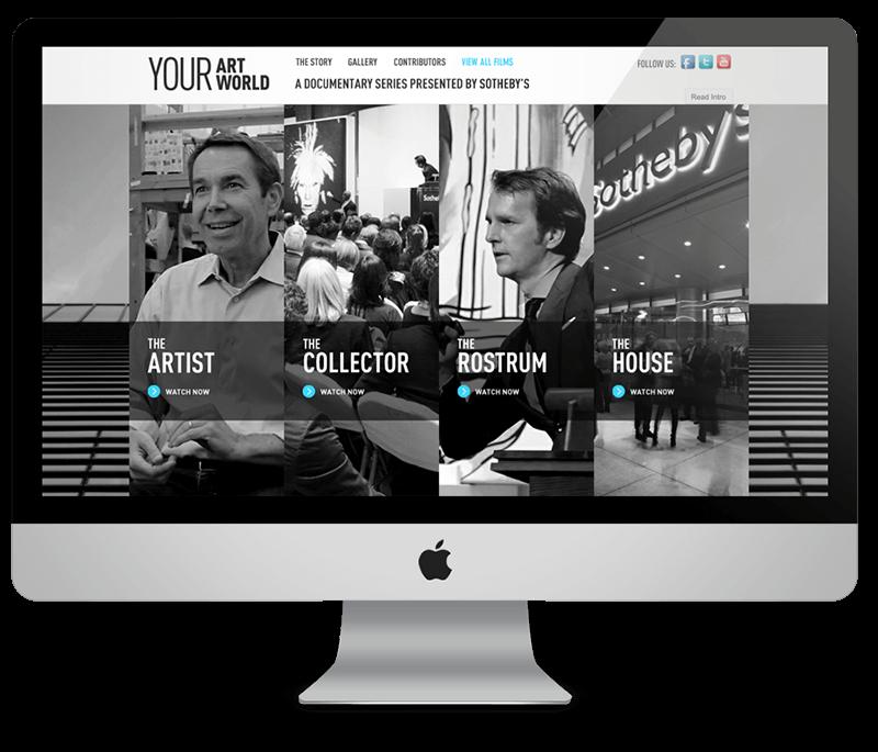Your Art World - homepage