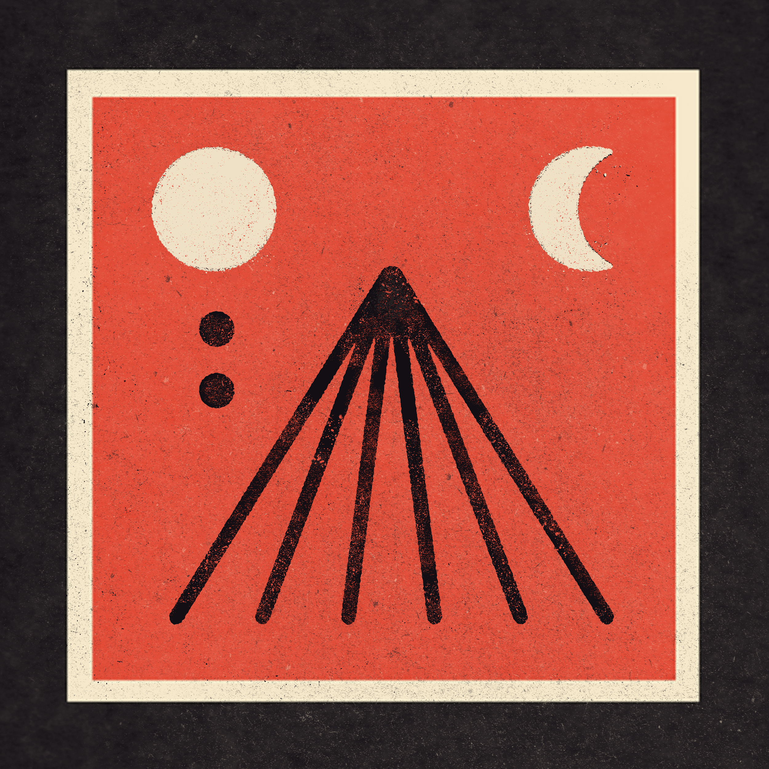SCARLET TUNIC    SINGLE COVER