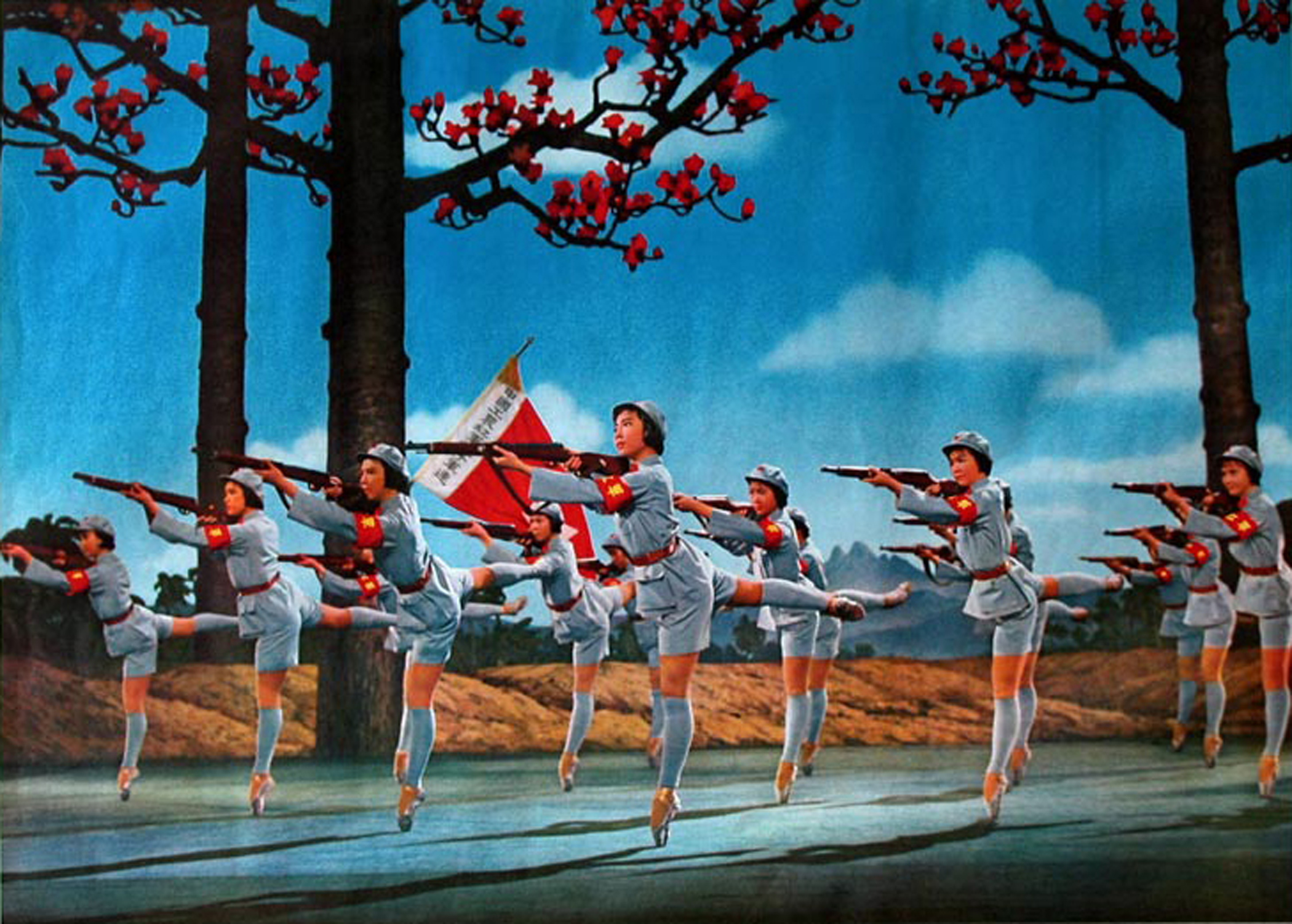 The Red Detachment of Women , a Chinese Ballet performed for Richard Nixon on his visit to China in 1972.