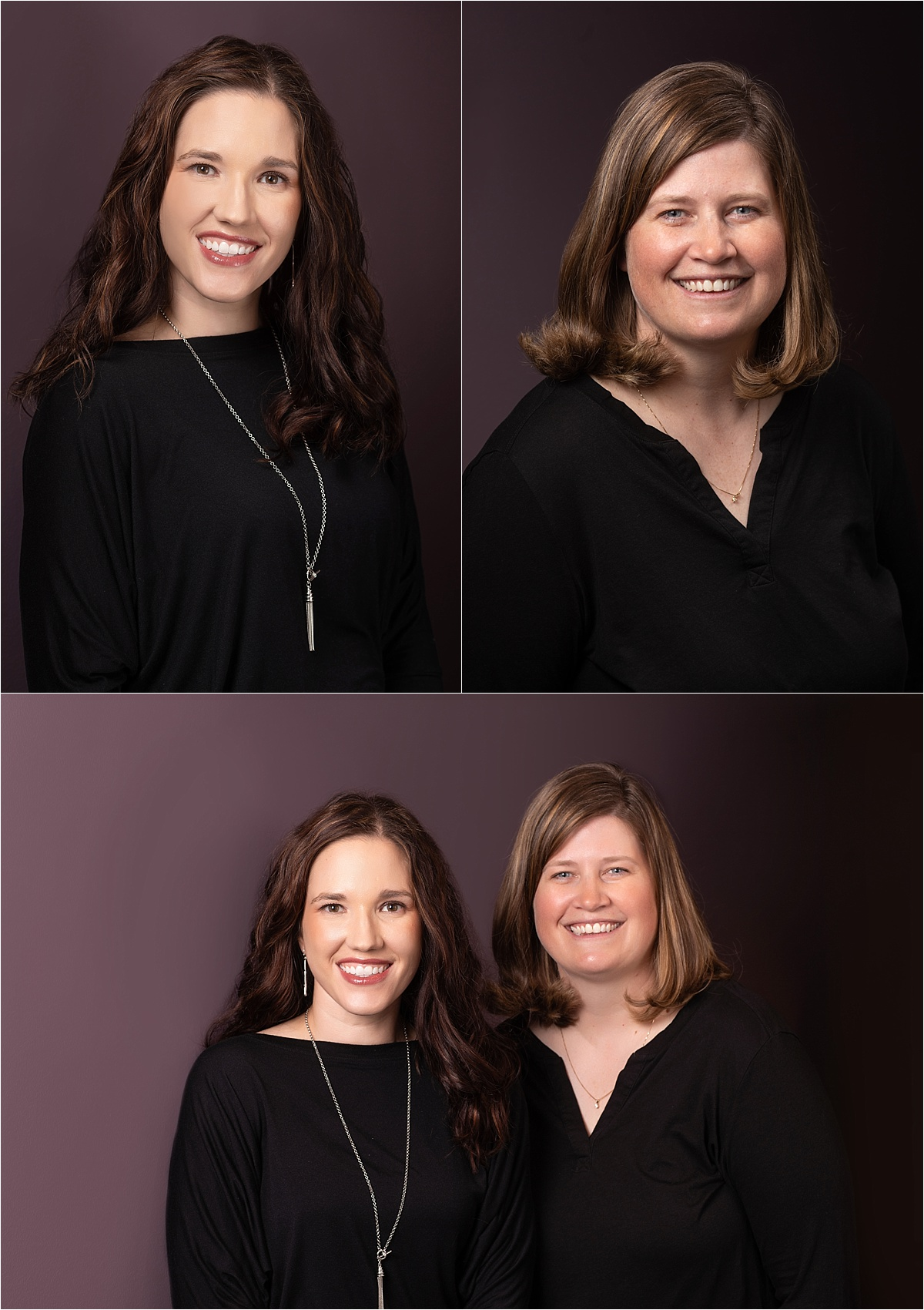 Dr. Meaghan S. Neuberger, D.D.S. and Dr. Stephanie Schmitz, D.D.S.