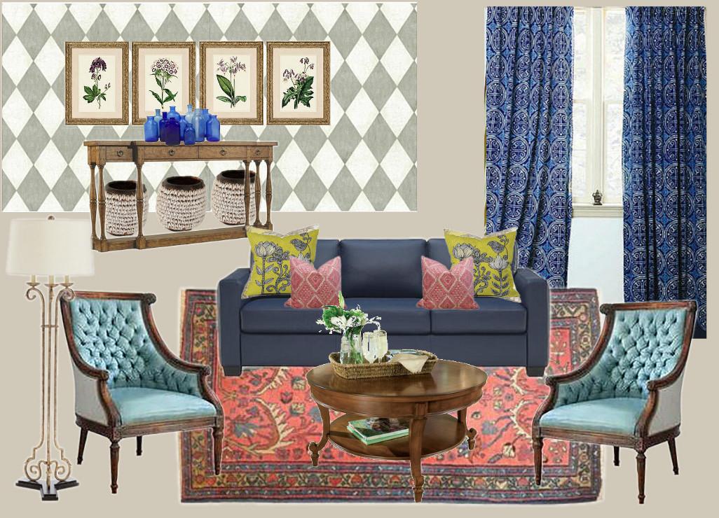 Full service Client: formal living room