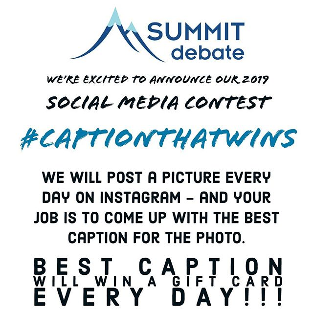 #CaptionThatWins Contest for the Des Moines Session!