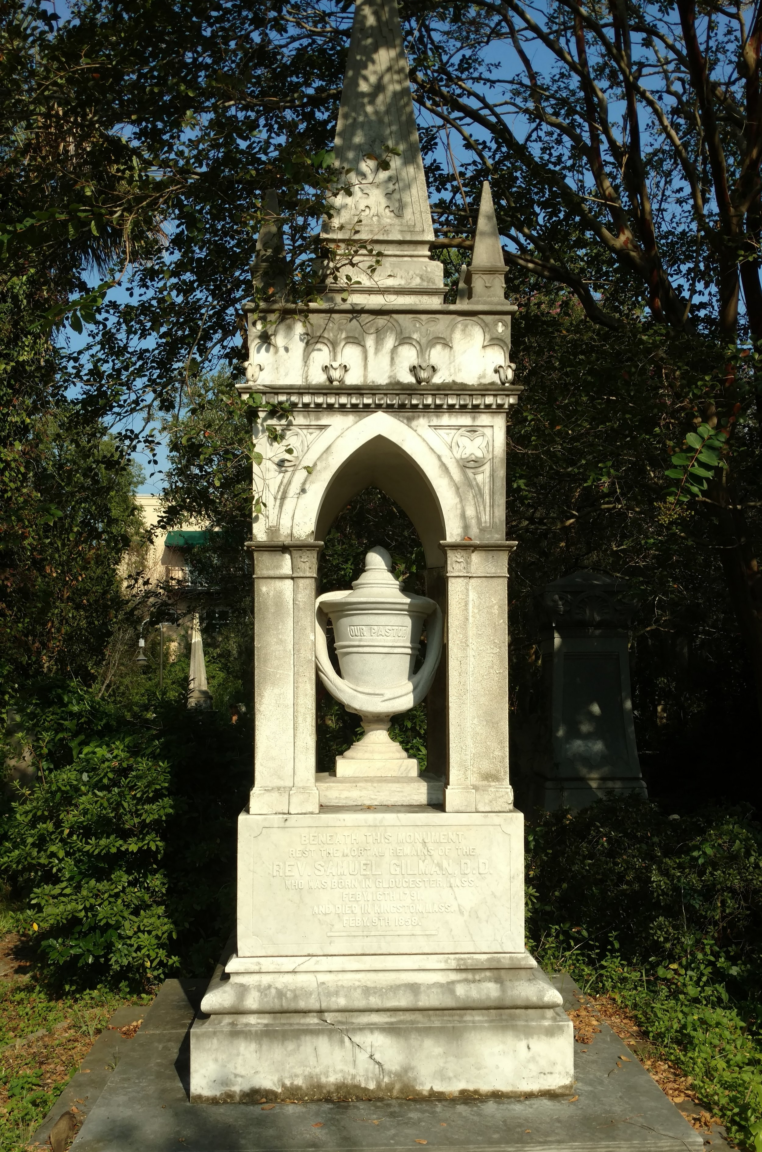 The Unitarian Church Graveyard