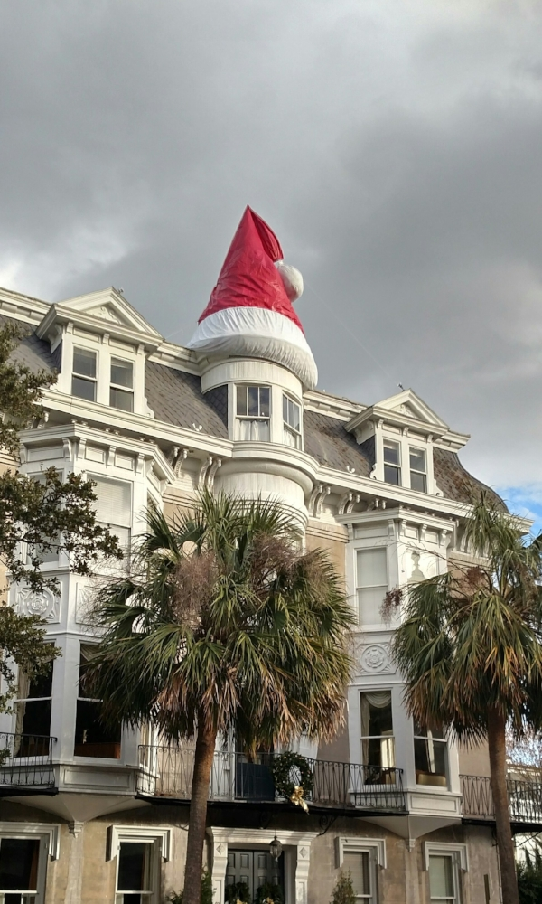 Christmas Finery in Charleston, SC