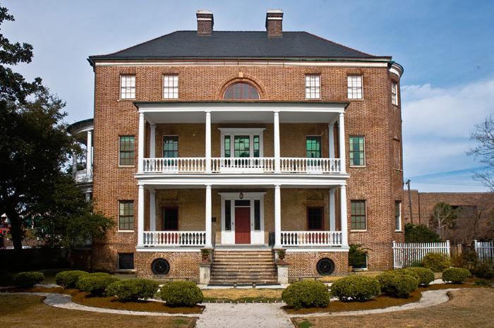 Manigault House on Meeting Street in Charleston, SC
