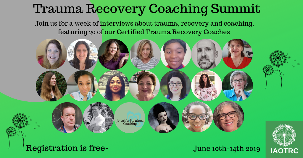 Welcome Summit participants - We are so happy to see you here at the International Association of Trauma Recovery Coaching website.