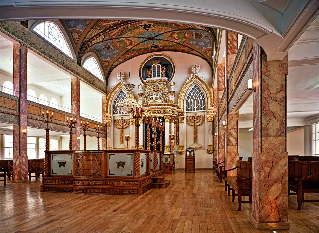 The Monte Sinai synagogue