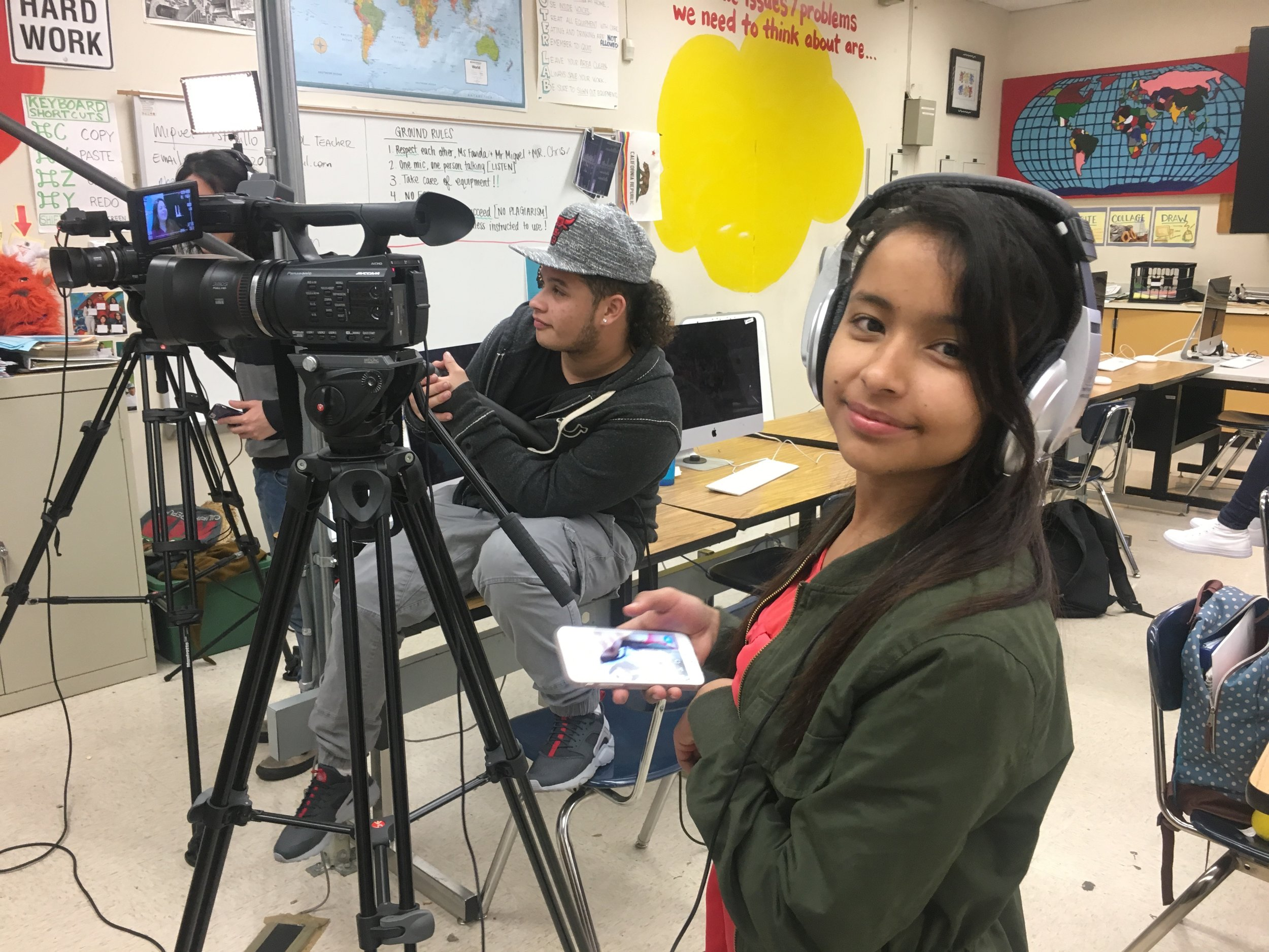 Oakland Unified School District - Youth Beat works closely with OUSD to offer academic credit for our classes and create quality media arts programs in Oakland public schools.We work with schools across the district to craft high quality media arts programs that engage students, bring technology and expertise into under resourced schools, and provide a huge value add to the school's class offerings.Youth Beat currently operates or supports media arts programs at the following schools:Community Day SchoolFremont High SchoolLa Escuelita K-8Madison Park AcademyMetWest High SchoolOakland International High School