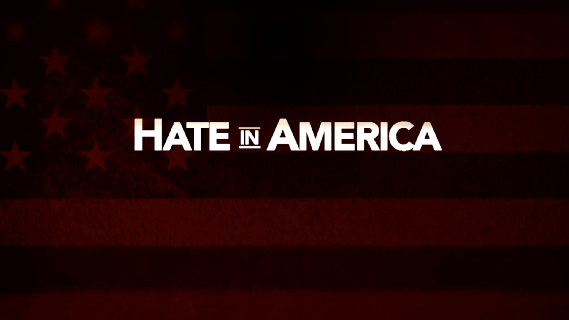 Hate In America - Junior Editor