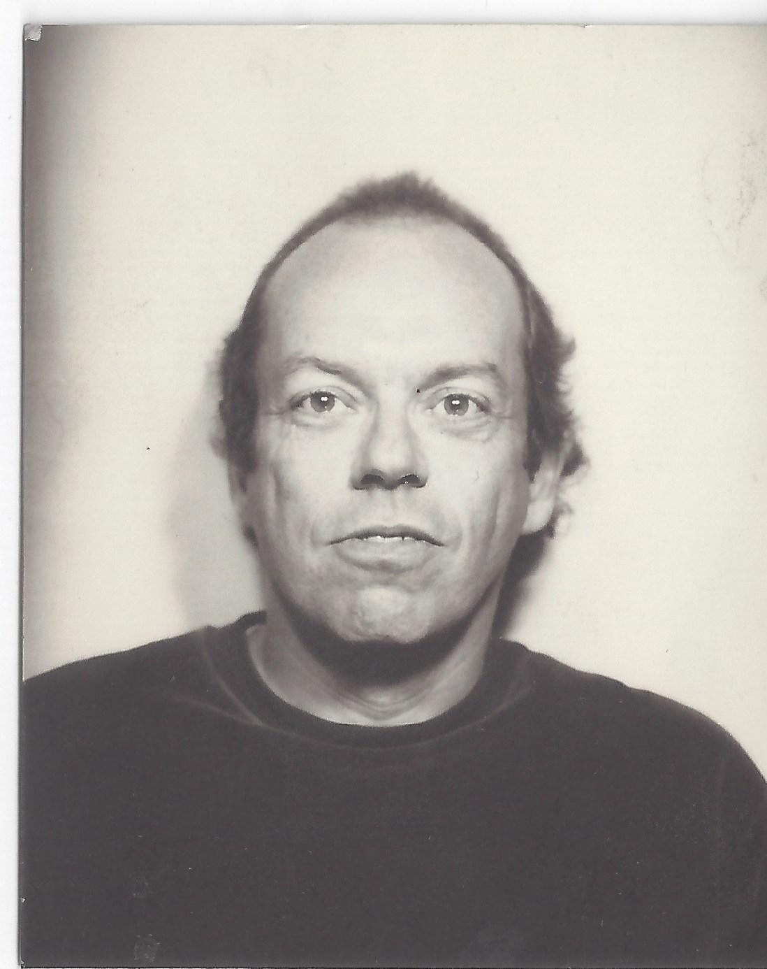 Photo Booth Self Portrait, circa 1990