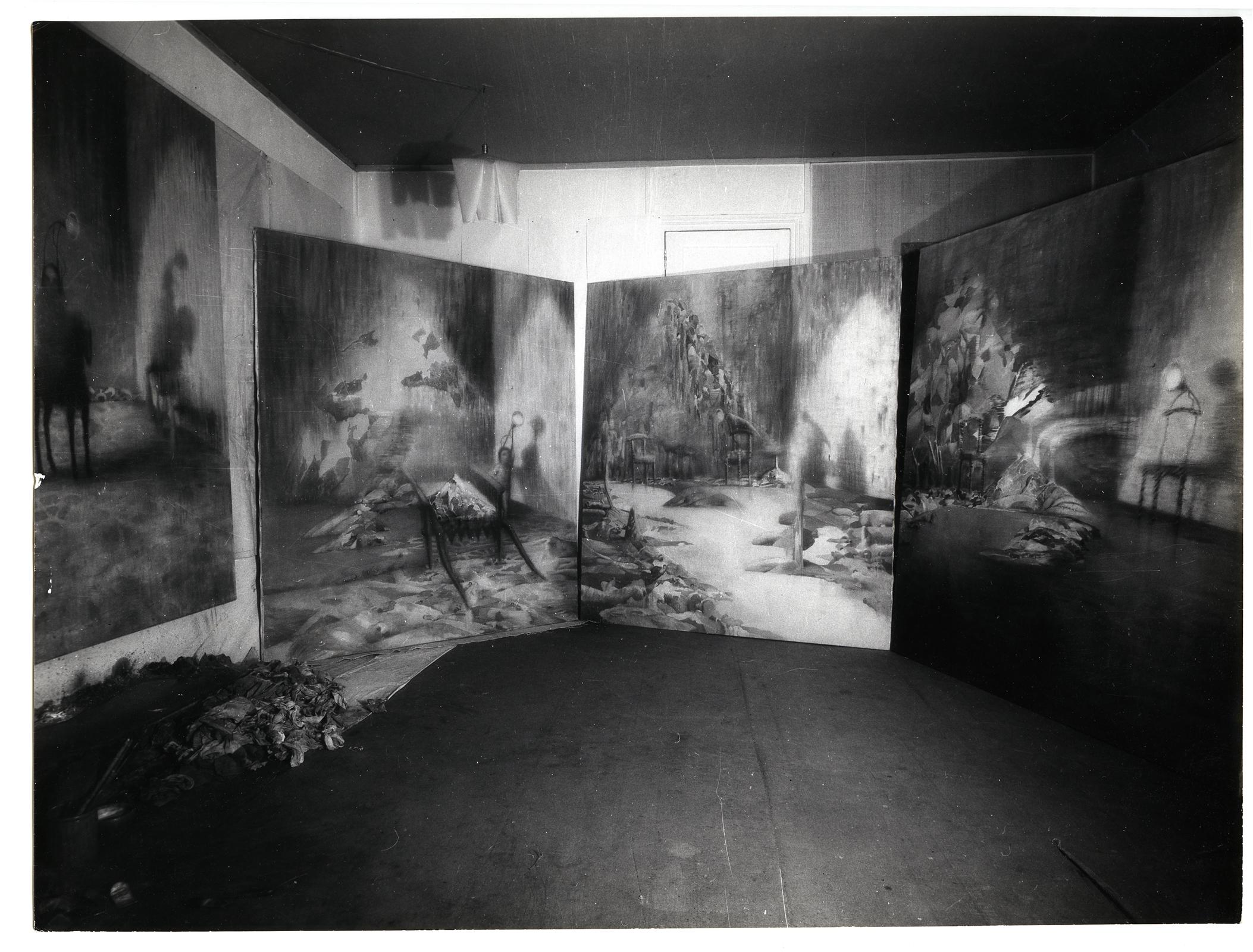 The Four Mountains in Paris Studio (1961)