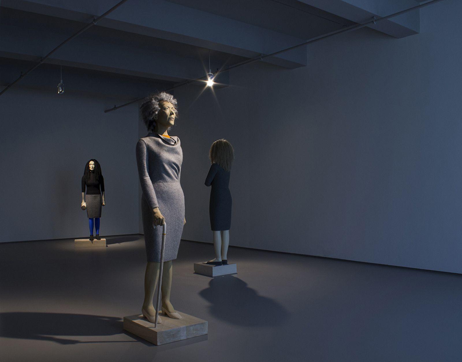 Judith Shea Installation view at Kent Fine Art  May 9 - June 28, 2014