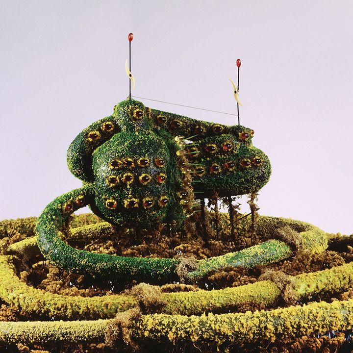 DAS URPFLANZE HAUS, detail, (1981–97)