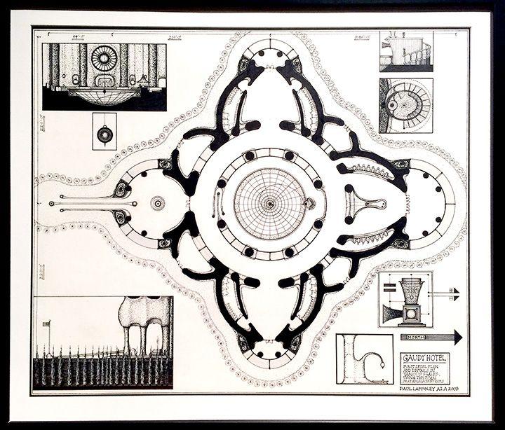 GAUDI HOTEL: FIRST LEVEL PLAN (2003)