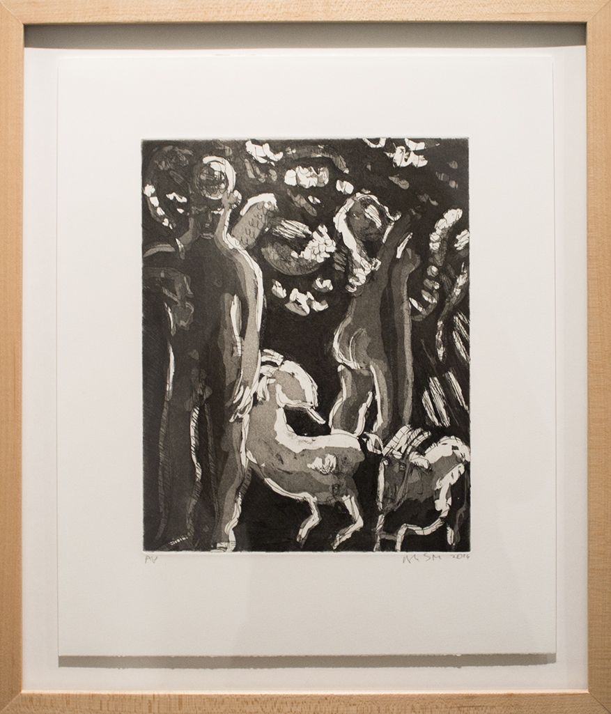 Study for Adam and Eve and the Goats 1 (2016)