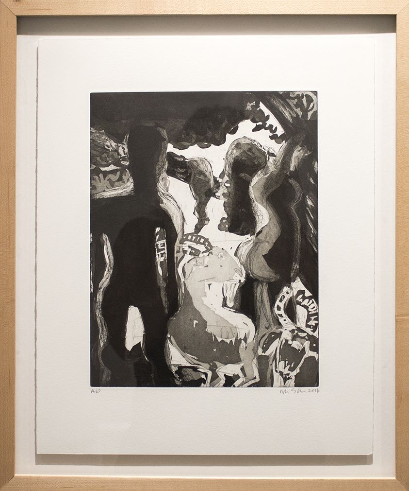 Study for Adam and Eve and the Goats 2 (2016)
