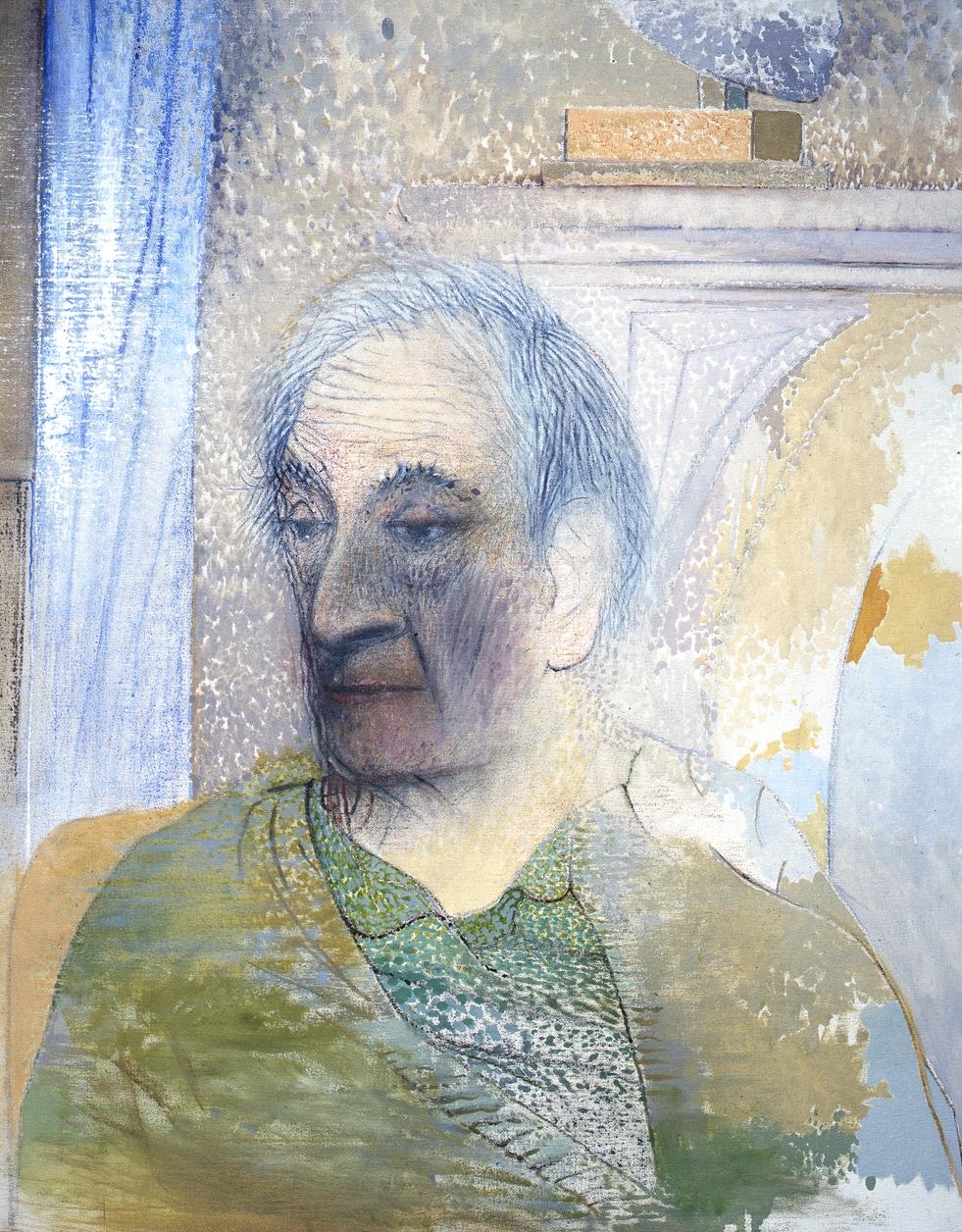 Portrait of Meyer Shapiro (1983)