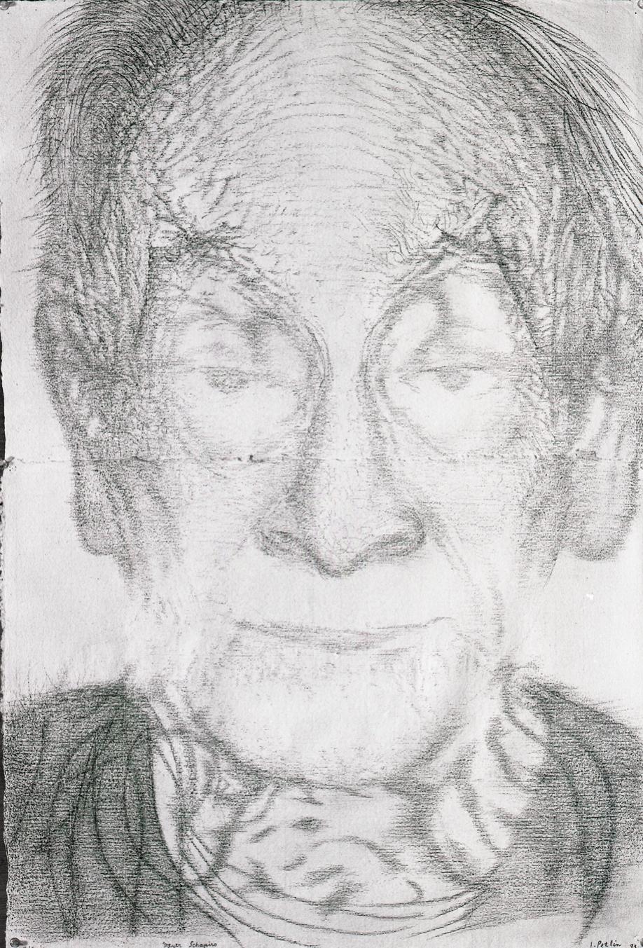 Portrait of Meyer Shapiro (1993)