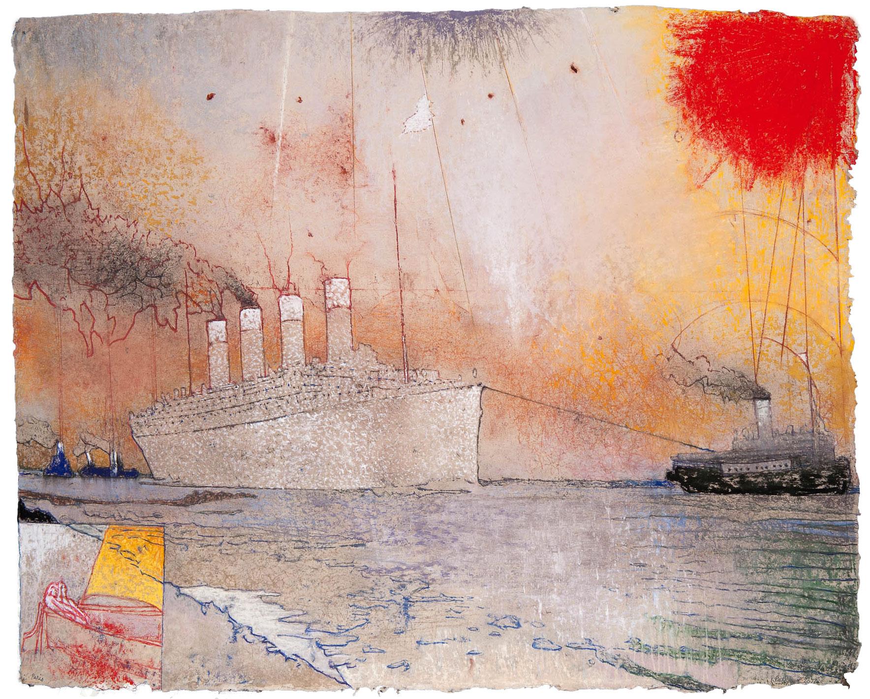 Irving Petlin's Armada of Discontent - December 3, 2017 | Hyperallergic | John Yau