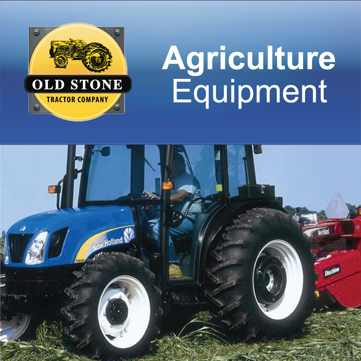 CLICK ON BLOCK TO GO TO AGRICULTURE EQUIPMENT