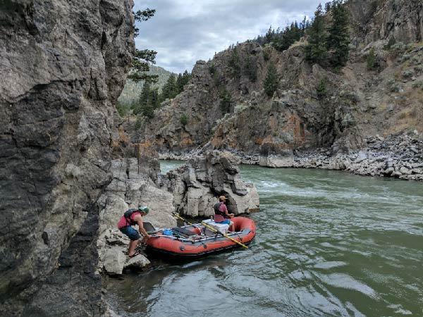 Rafting Yankee Jim Canyon, Montana