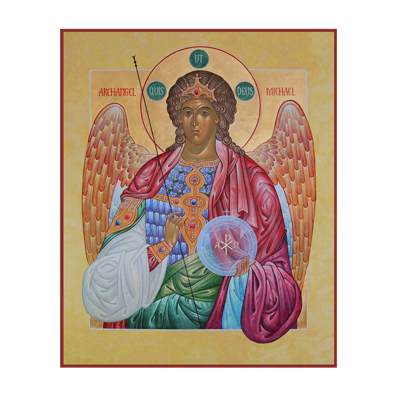 Archangel Michael   More text here. More text here. And even more text here.