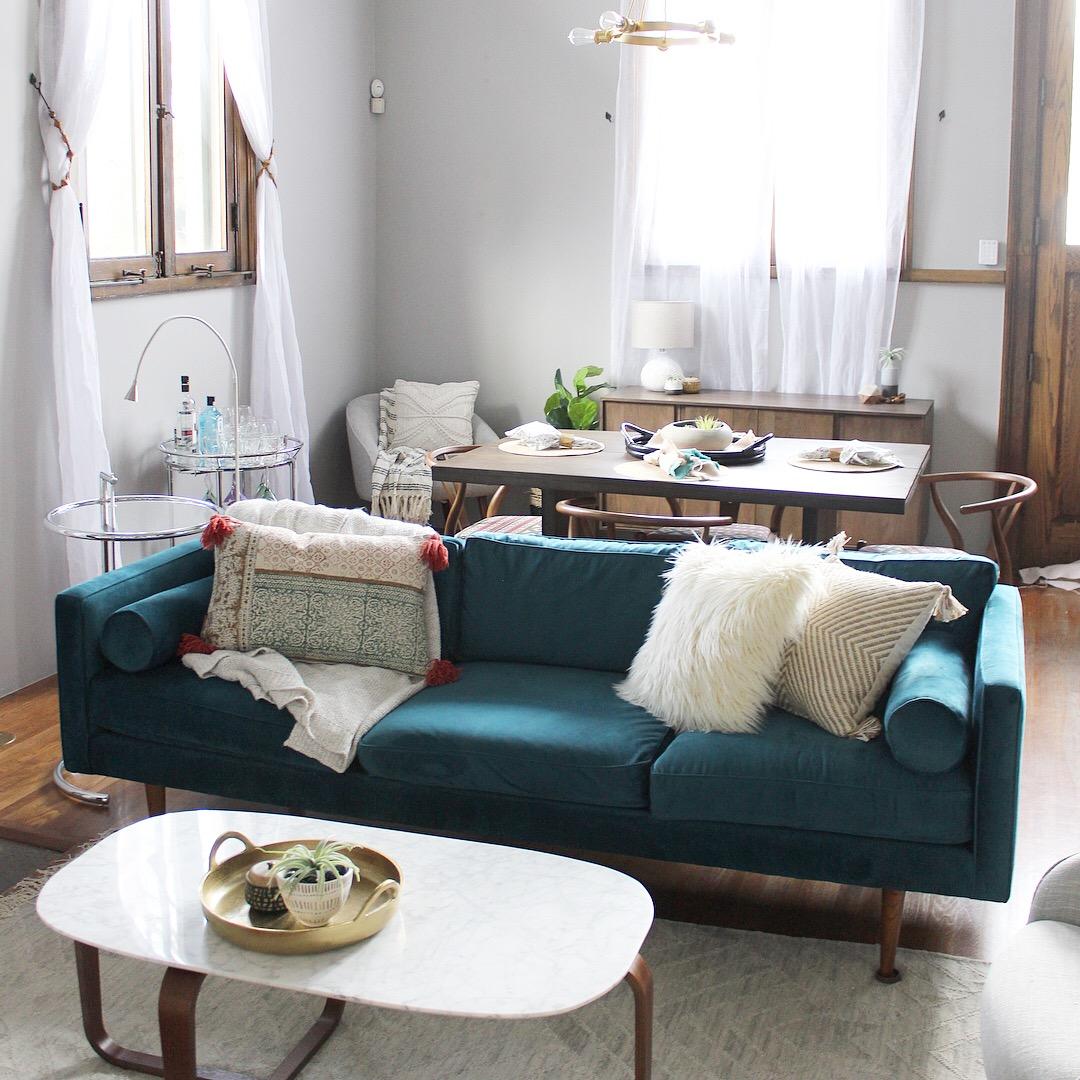 """After"" Living room"