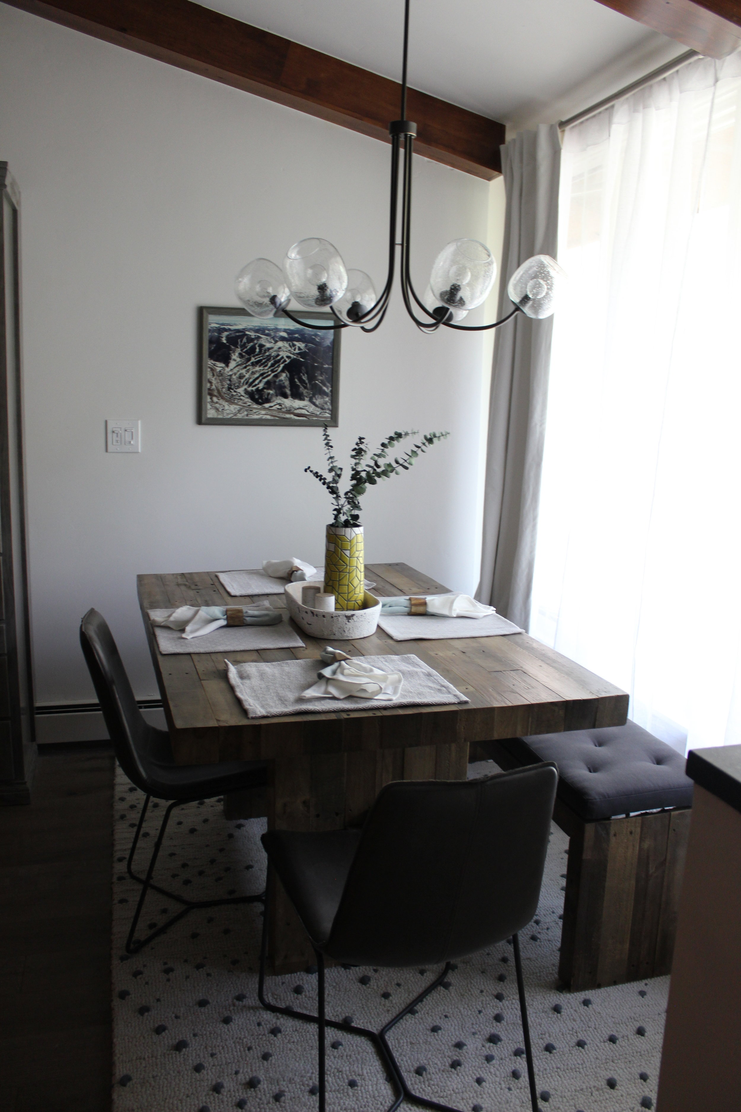 """""""After"""" dining area"""