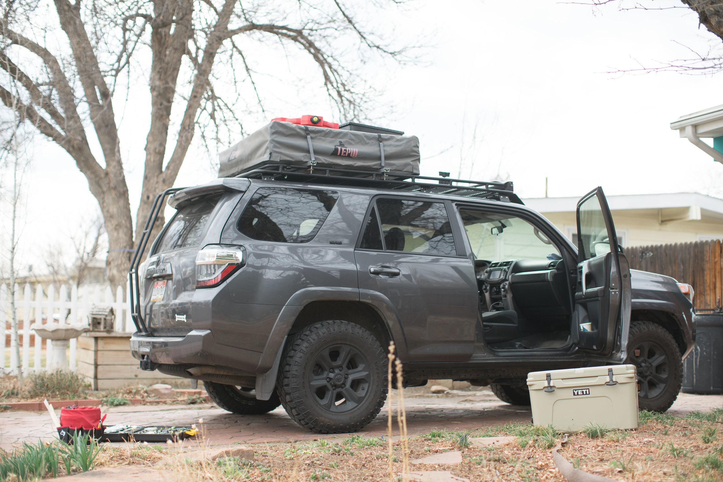 Preparing For Alaska -