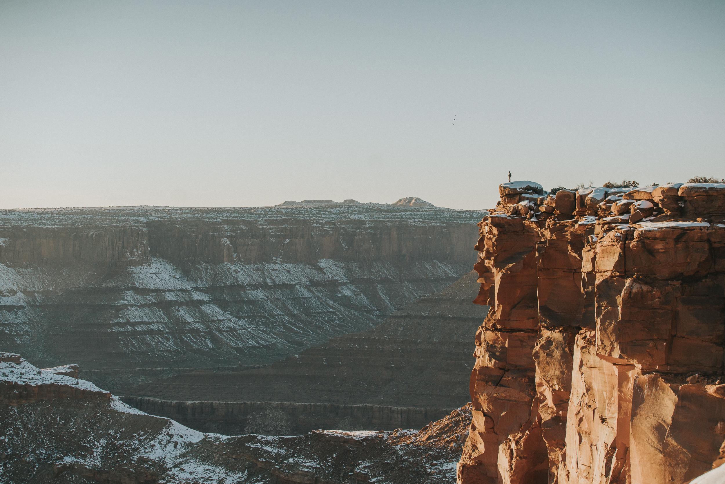 Winter in Moab -