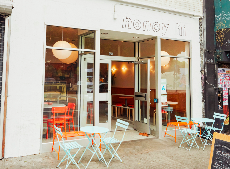 Honey Hi restaurant in Los Angeles