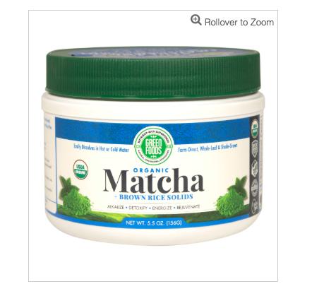 Green Foods Corporation Organic Matcha