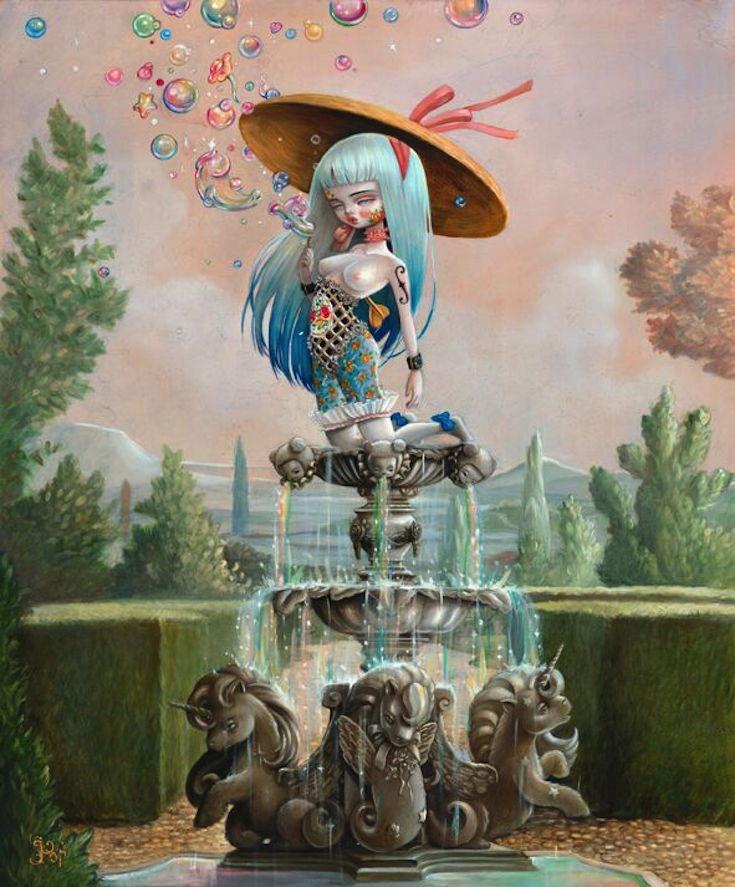 tenthousandyellowjackets :     Elixir Fountain by Kukula