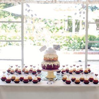 Yummy yummy yummy! #bakedgoods #treats #weddingcake #nunezweddings #tietheknot