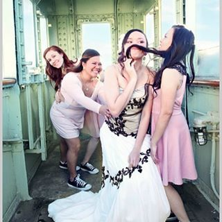 You have to love a bride with a sense of humor! I encourage all my brides & bridesmaids to be themselves, that is where true beauty is captured. #nunezweddings #weddingphotography #bridesbaids #bride #love #lifeisgood #followme