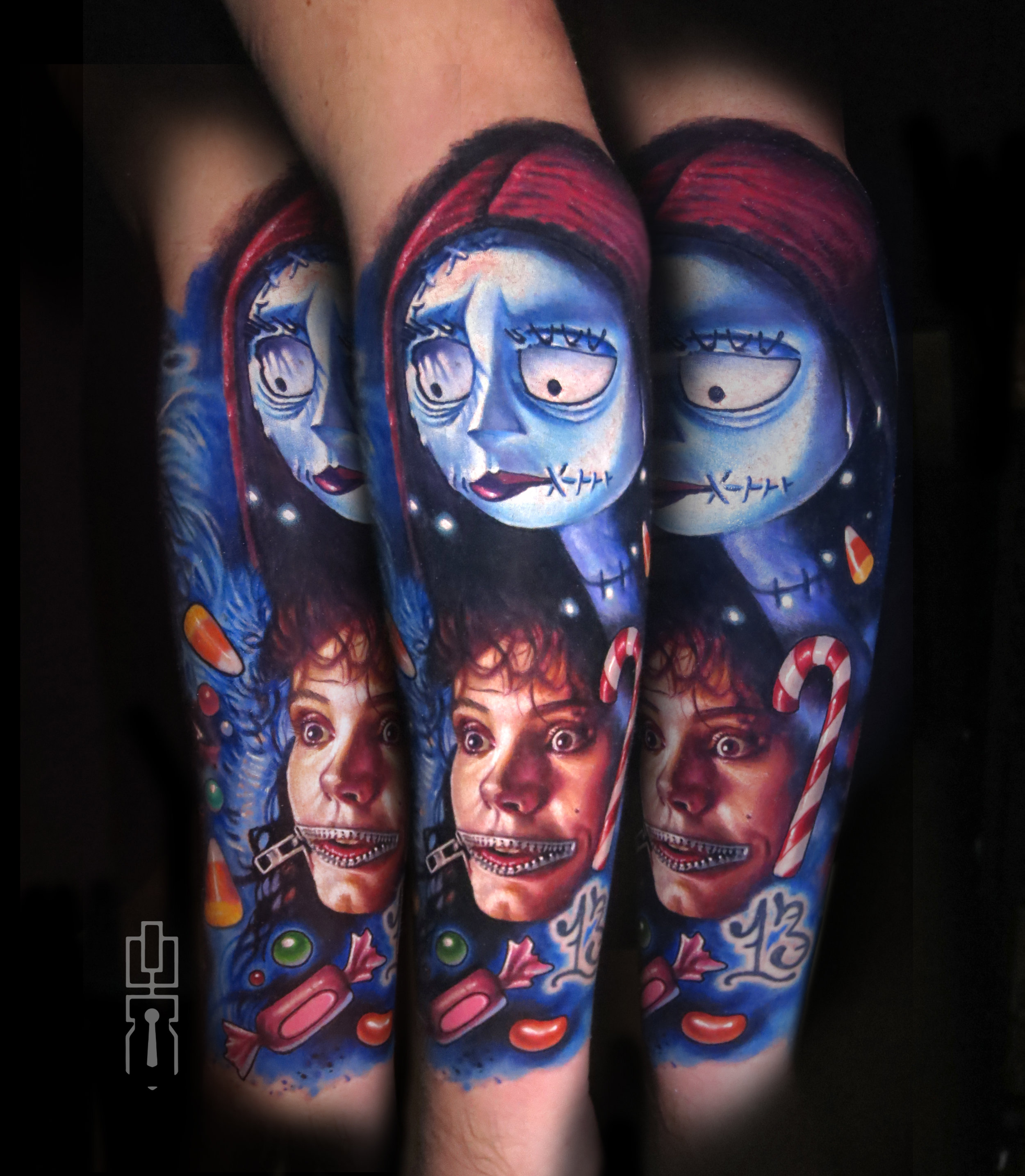 sally nightmare geena davis barbara beetlejuice full tattoo.jpg