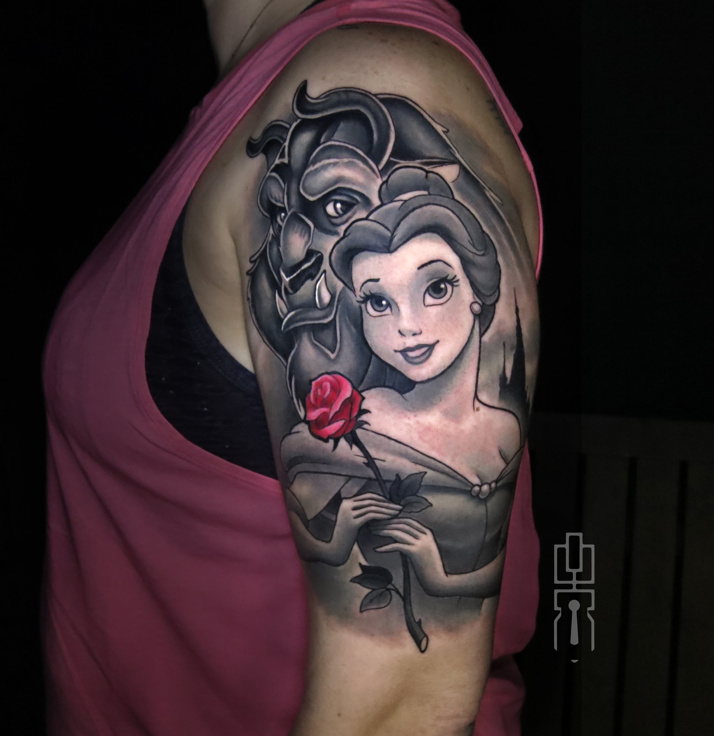 belle beauty and the beast tattoo.jpg