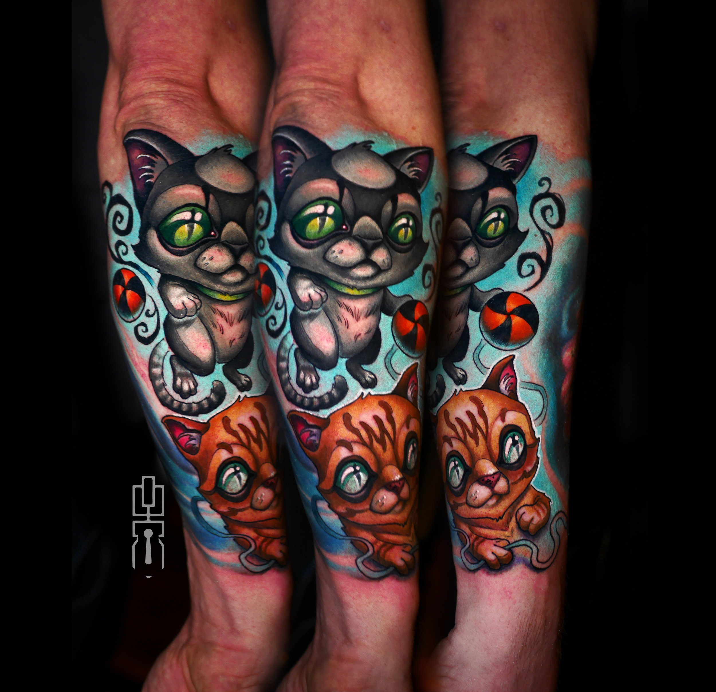 newschool cats kittens kitty tattoo.jpg