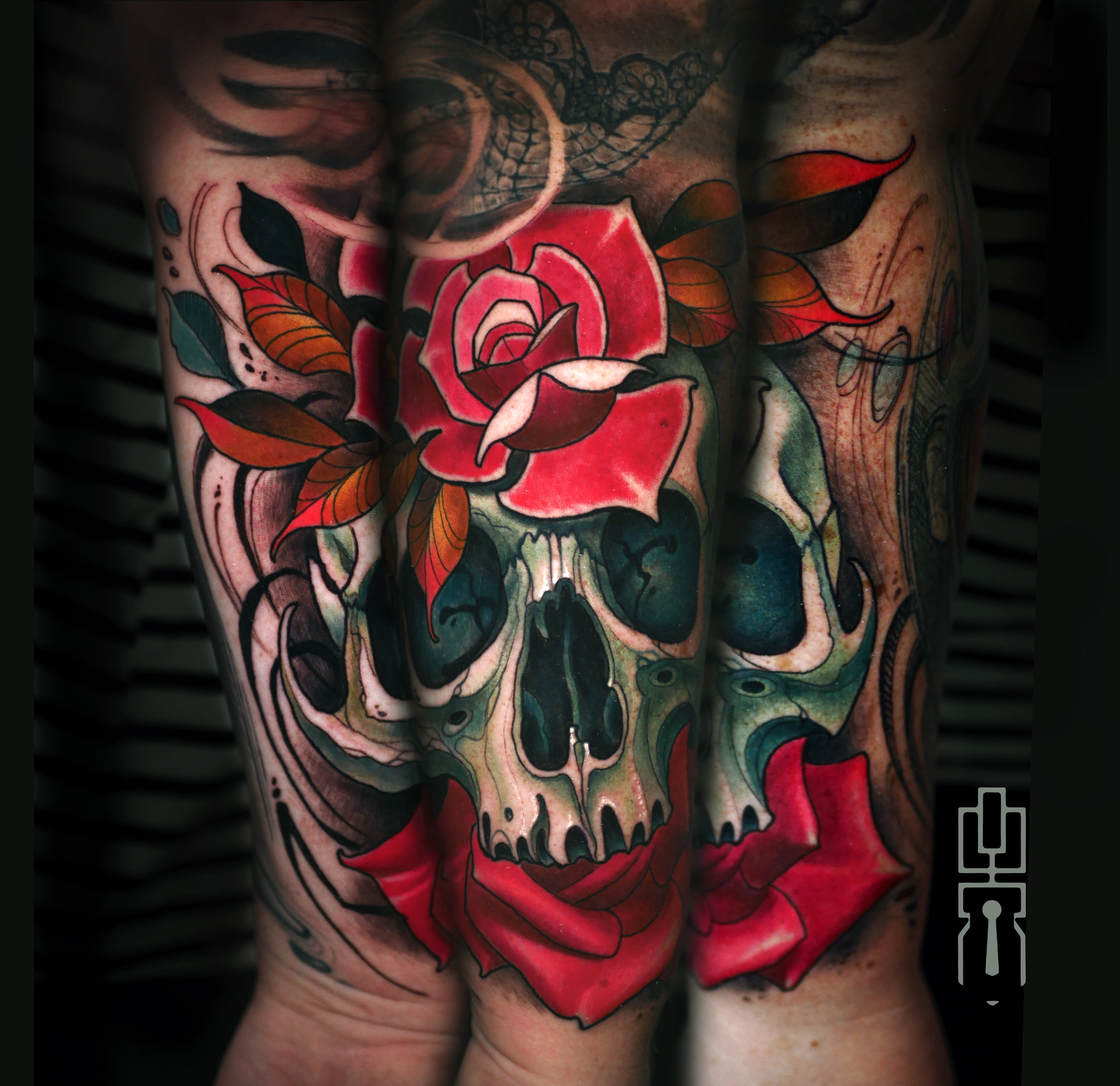 neotrad skull and roses tattoo deathless .jpg