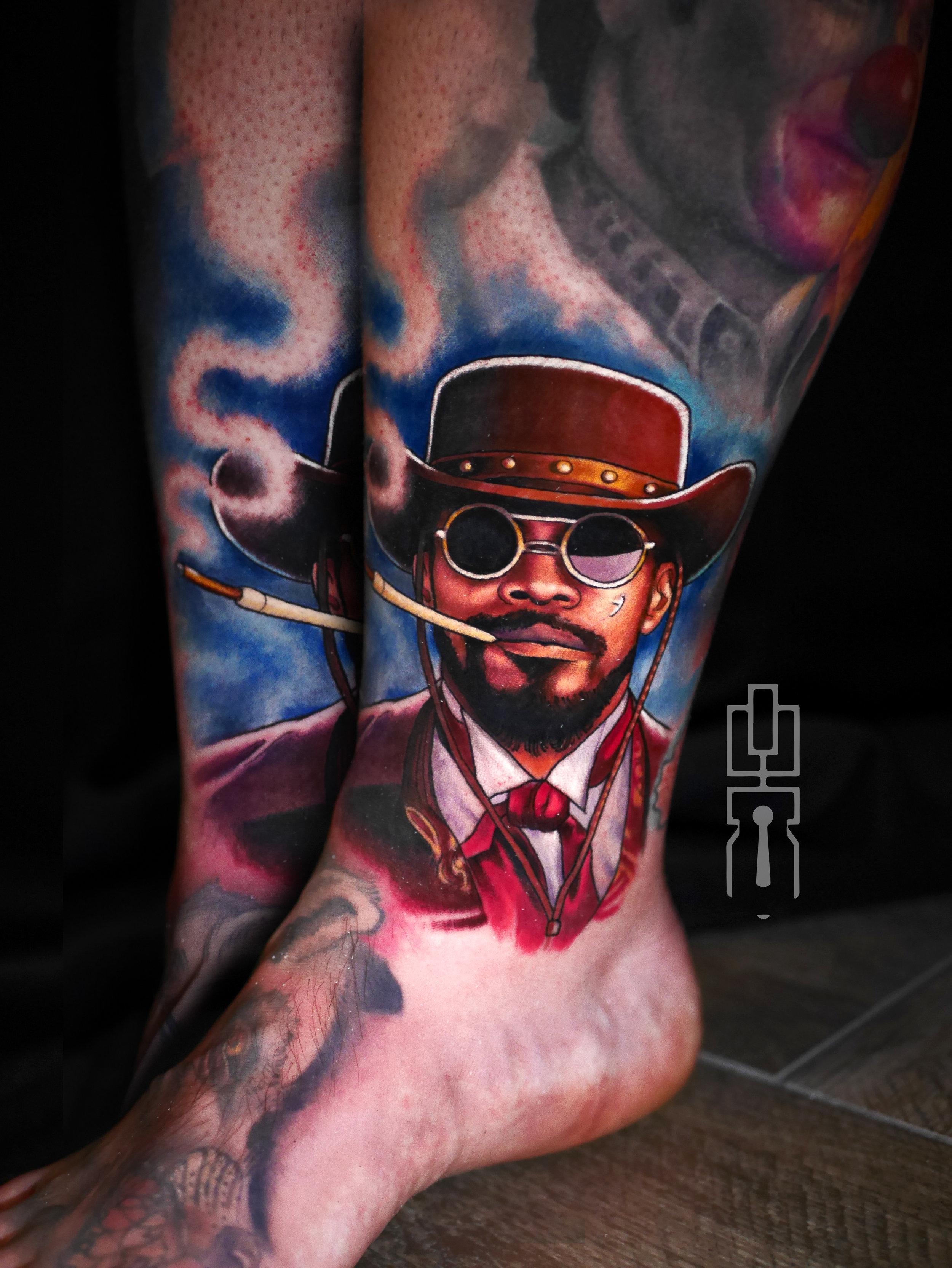 django unchained jamie foxx tattoo.jpg