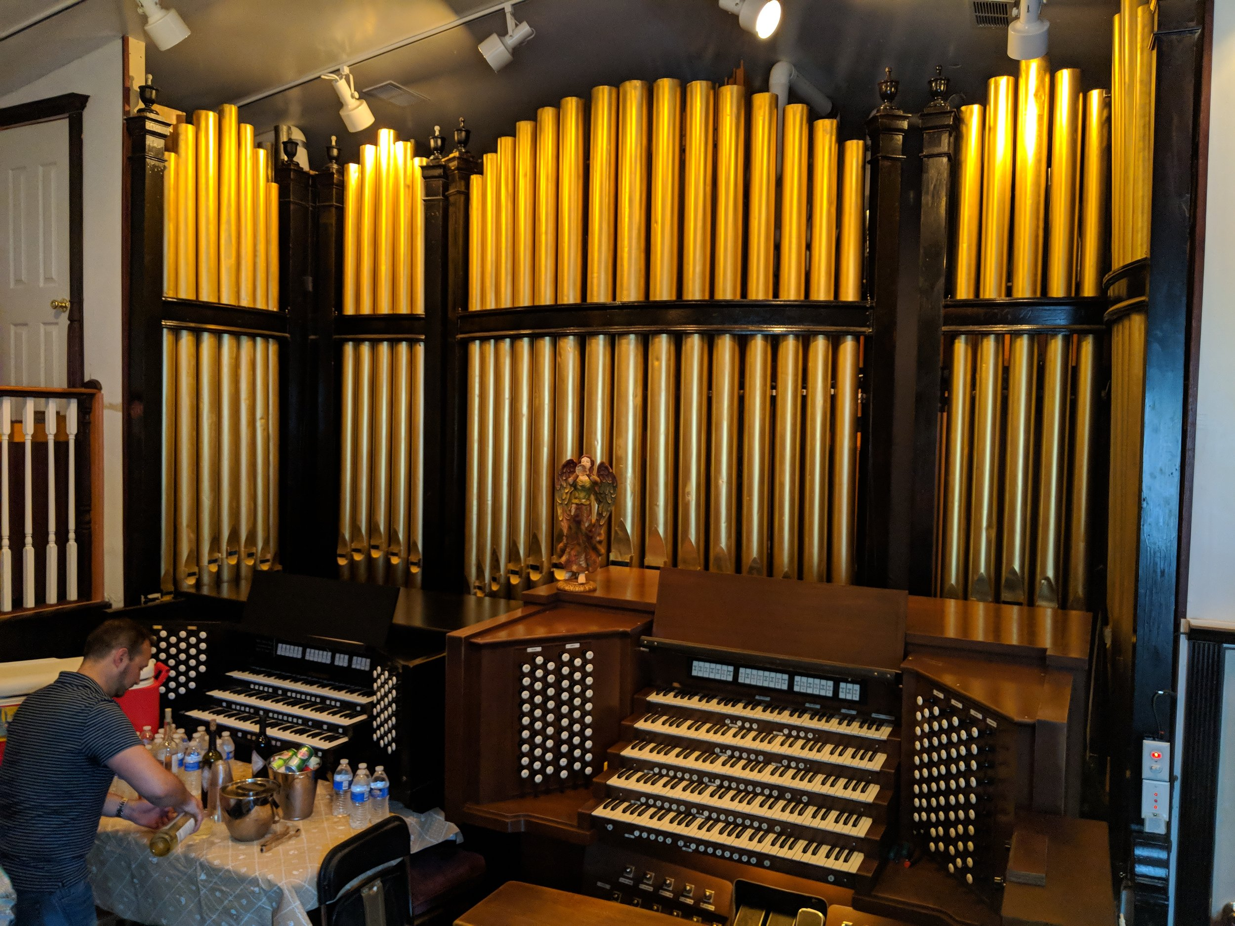The 86 Rank Pipe Organ