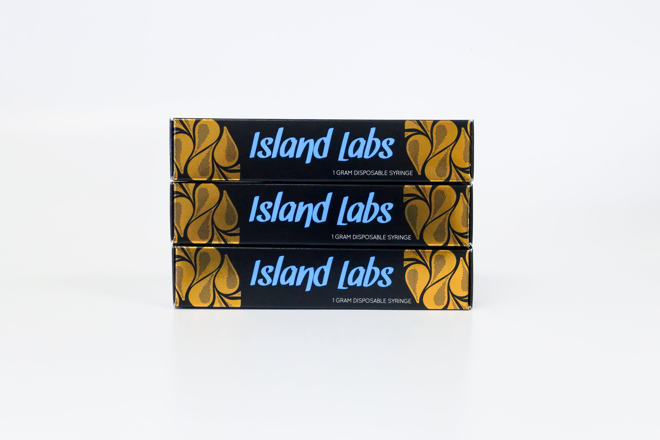 Island Labs Concentrates Cannabis Packaging