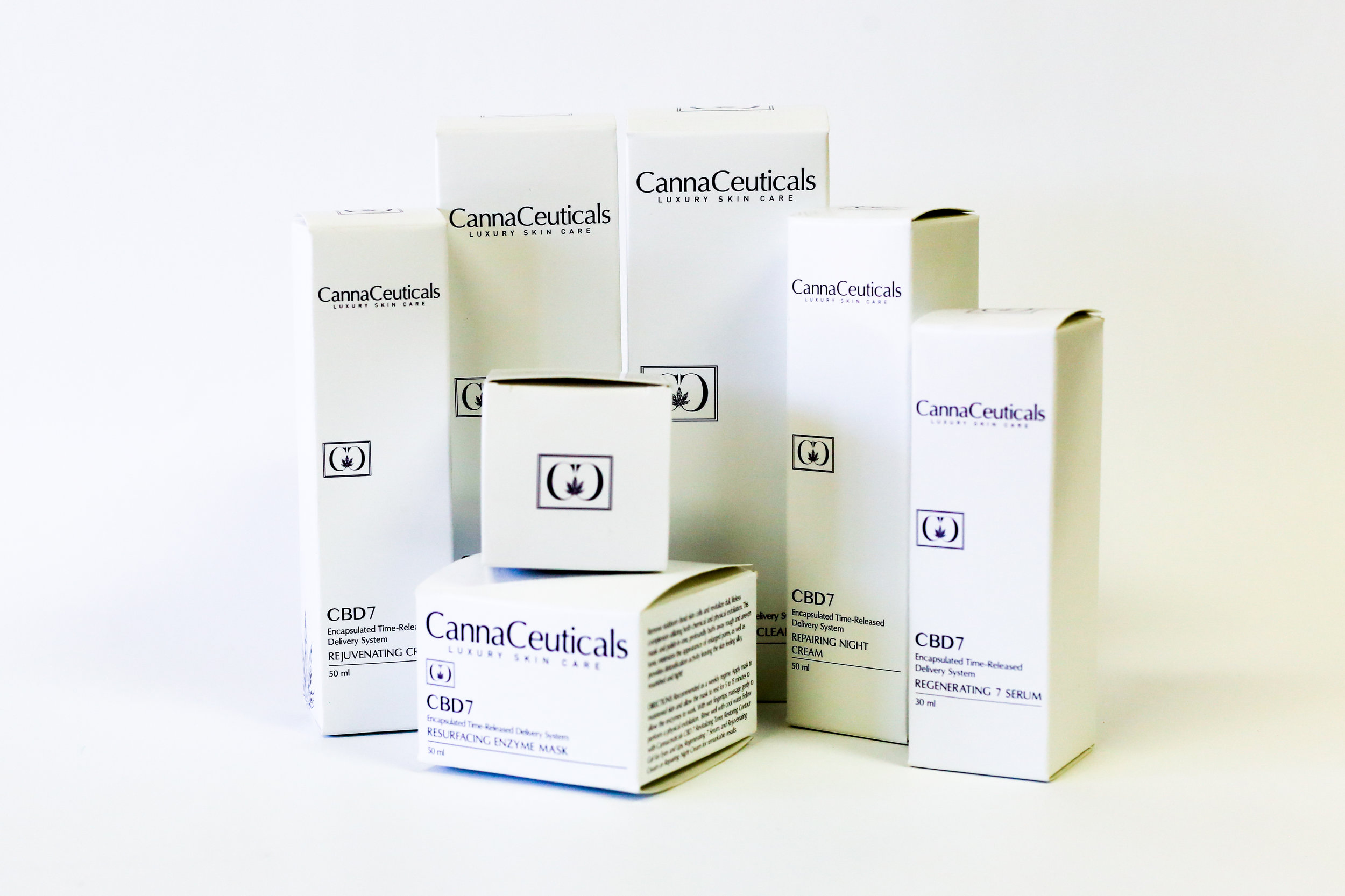 CannaCeuticals Luxury Skin Care Other Cannabis Packaging